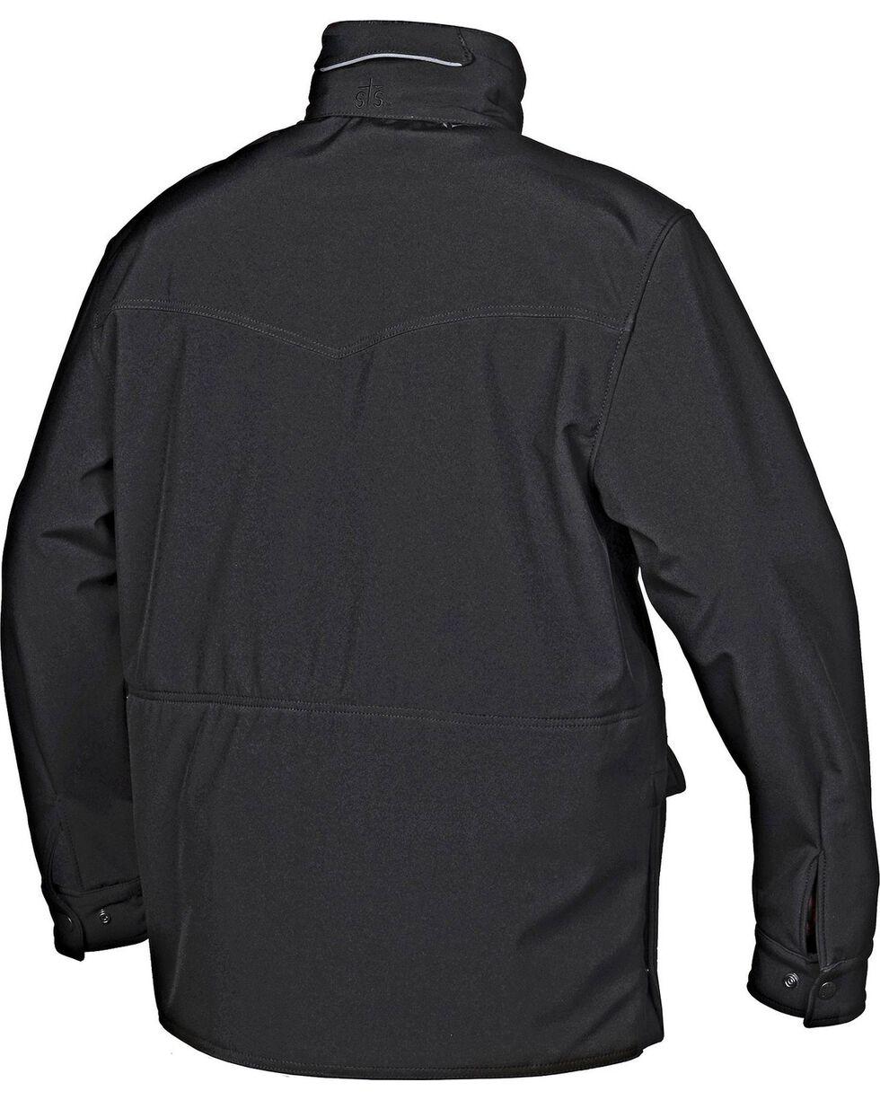 STS Ranchwear Men's Brazos Black Jacket - Big & Tall - 2XL-3XL, Black, hi-res