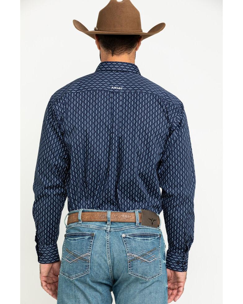 Ariat Men's Loveland Stretch Small Geo Print Long Sleeve Western Shirt - Big , Multi, hi-res