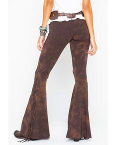 Rock   Roll Cowgirl Women s Fringe Bell Bottoms ca828e5ea666