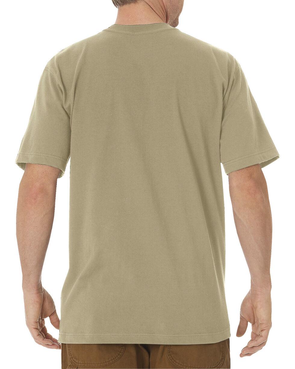 Dickies Men's Heavy Weight Short Sleeve Tee, Sand, hi-res
