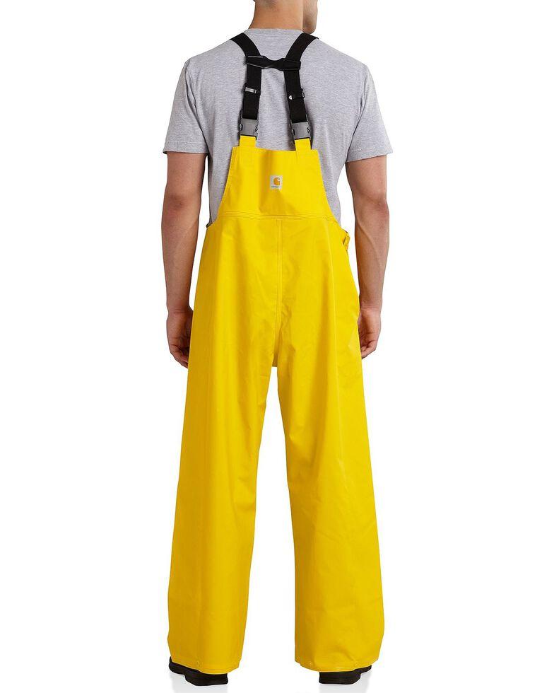 Carhartt Mayne Waterproof Bib Overalls - Big & Tall, Yellow, hi-res