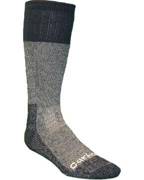 Carhartt Men's All Season Steel Toe Socks, Navy, hi-res