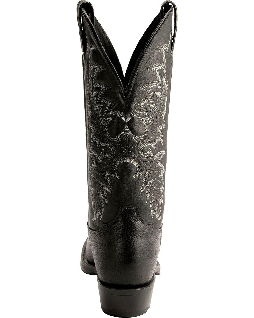Tony Lama Men's Americana Conquistador Shoulder Western Boots, Black, hi-res