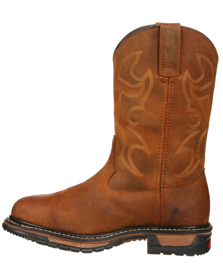 exceptional range of styles 100% high quality exquisite craftsmanship Rocky Women's Original Ride Waterproof Western Work Boots - Round Toe