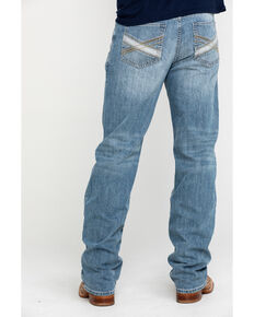 Cody James Men's Blue Shadow Light Stretch Slim Boot Jeans , Blue, hi-res