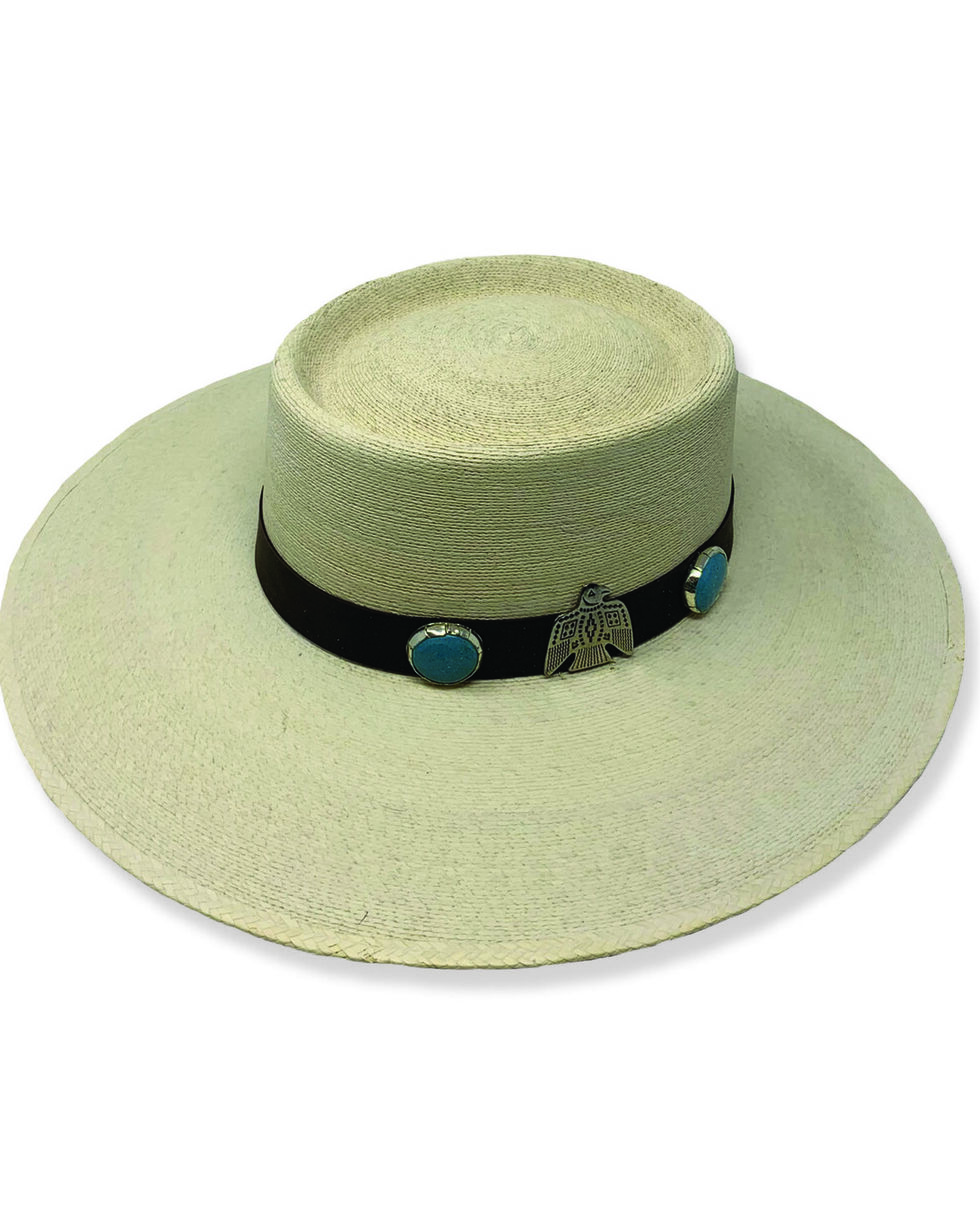 Atwood Women's Thunder Nevada Western Hat, Natural, hi-res