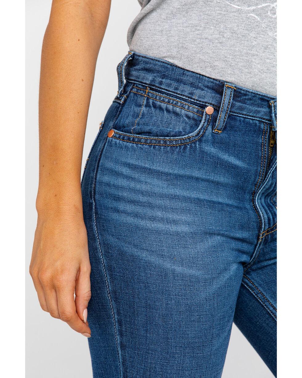 Wrangler Women's Midtown High Rise Med Trouser Jeans , Blue, hi-res