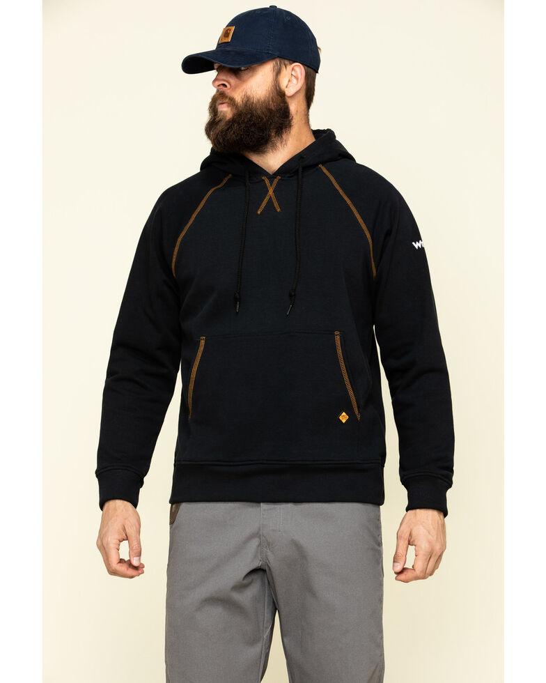 Wrangler 20X Men's Flame Resistant Hooded Work Sweatshirt , , hi-res