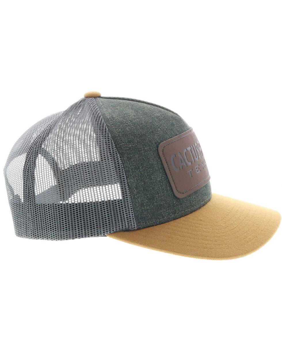 HOOey Men's Cactus Ropes Trucker Cap, Grey, hi-res