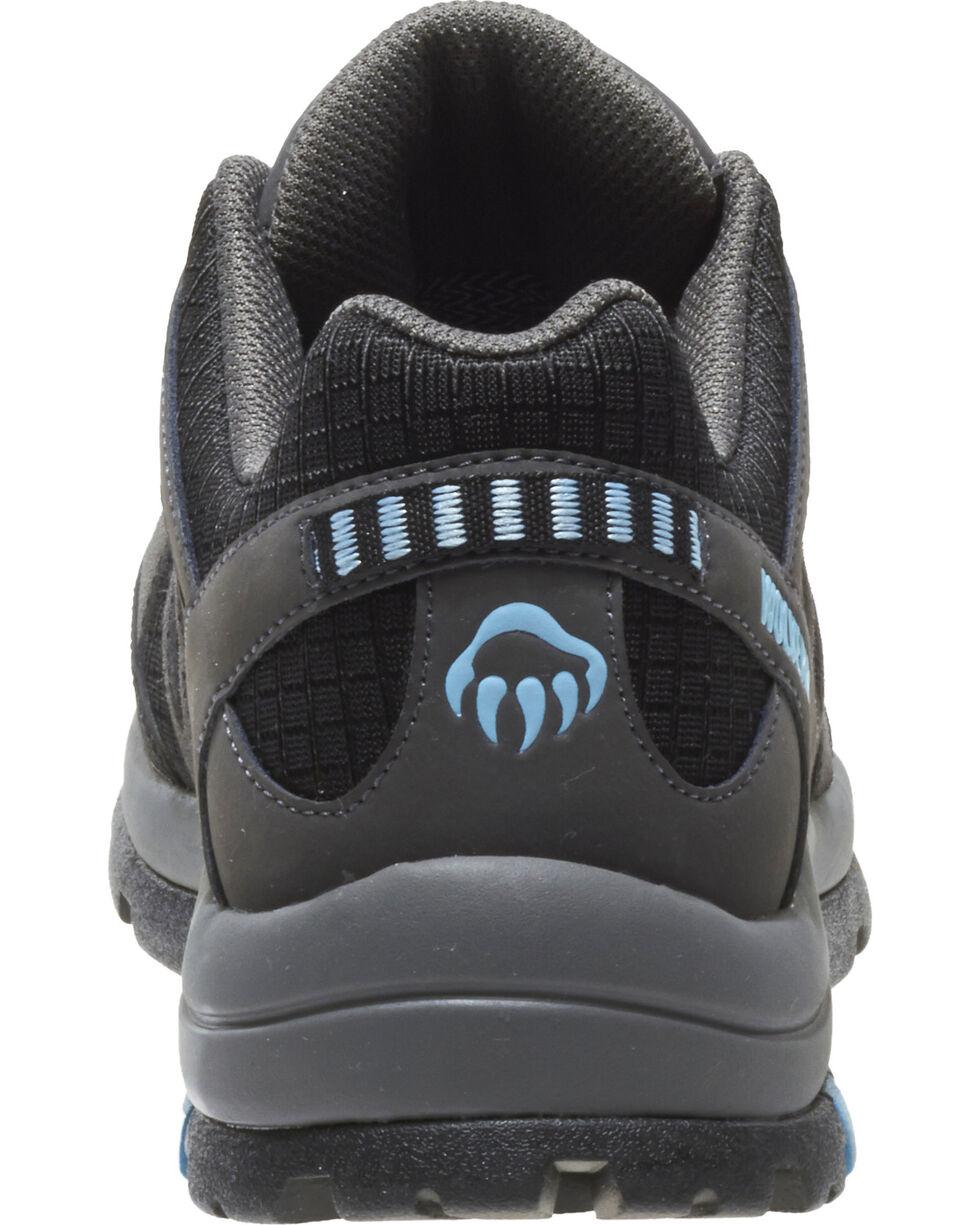 Wolverine Women's Fletcher Waterproof Hiking Shoes - Composite Toe, Black, hi-res