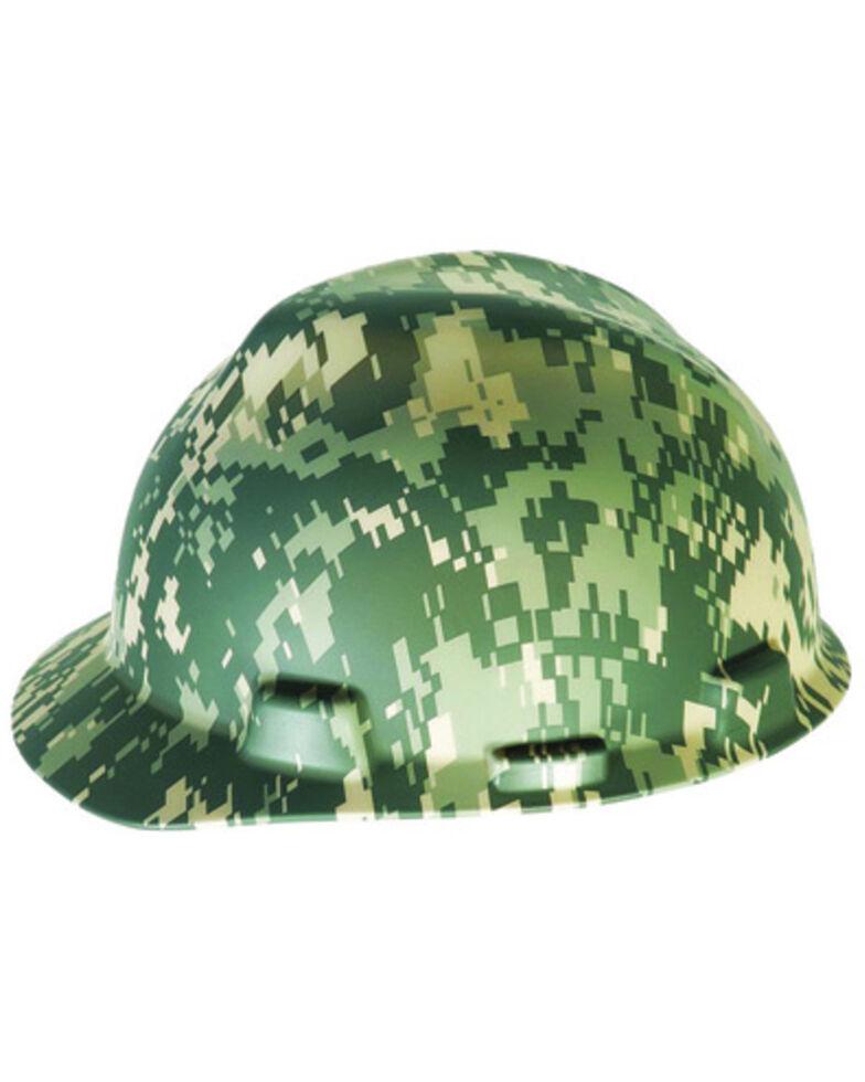 MSA Camo Ratchet Cap Style Work Hard Hat , Camouflage, hi-res