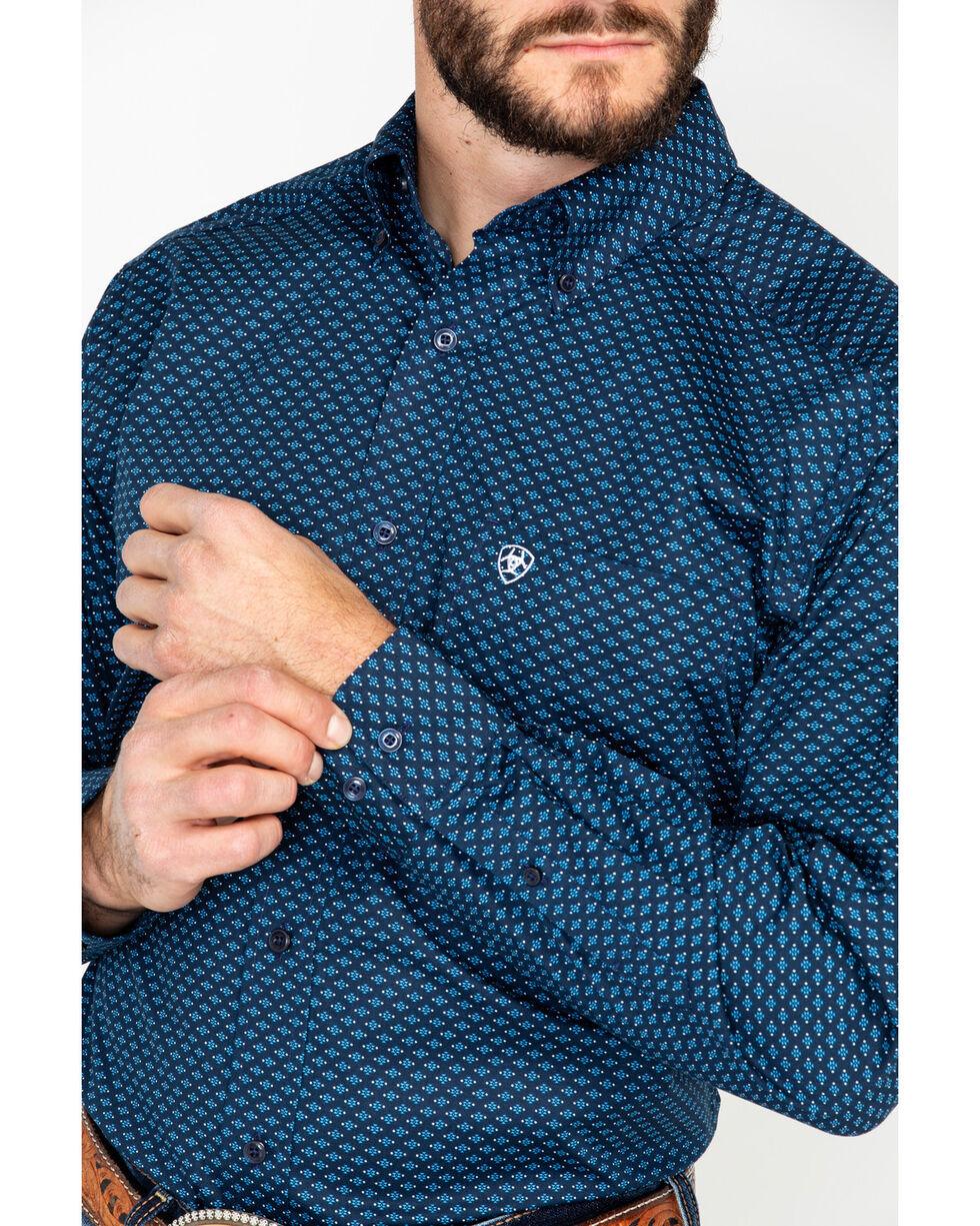 Ariat Men's Atticus Stretch Poplin Print Long Sleeve Western Shirt , , hi-res