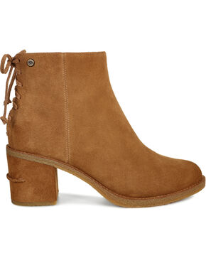 UGG Women's Chestnut Corinne Boots - Round Toe, Brown, hi-res