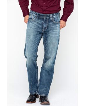 Silver Jeans Men's Gordie Medium Wash Jeans, Indigo, hi-res