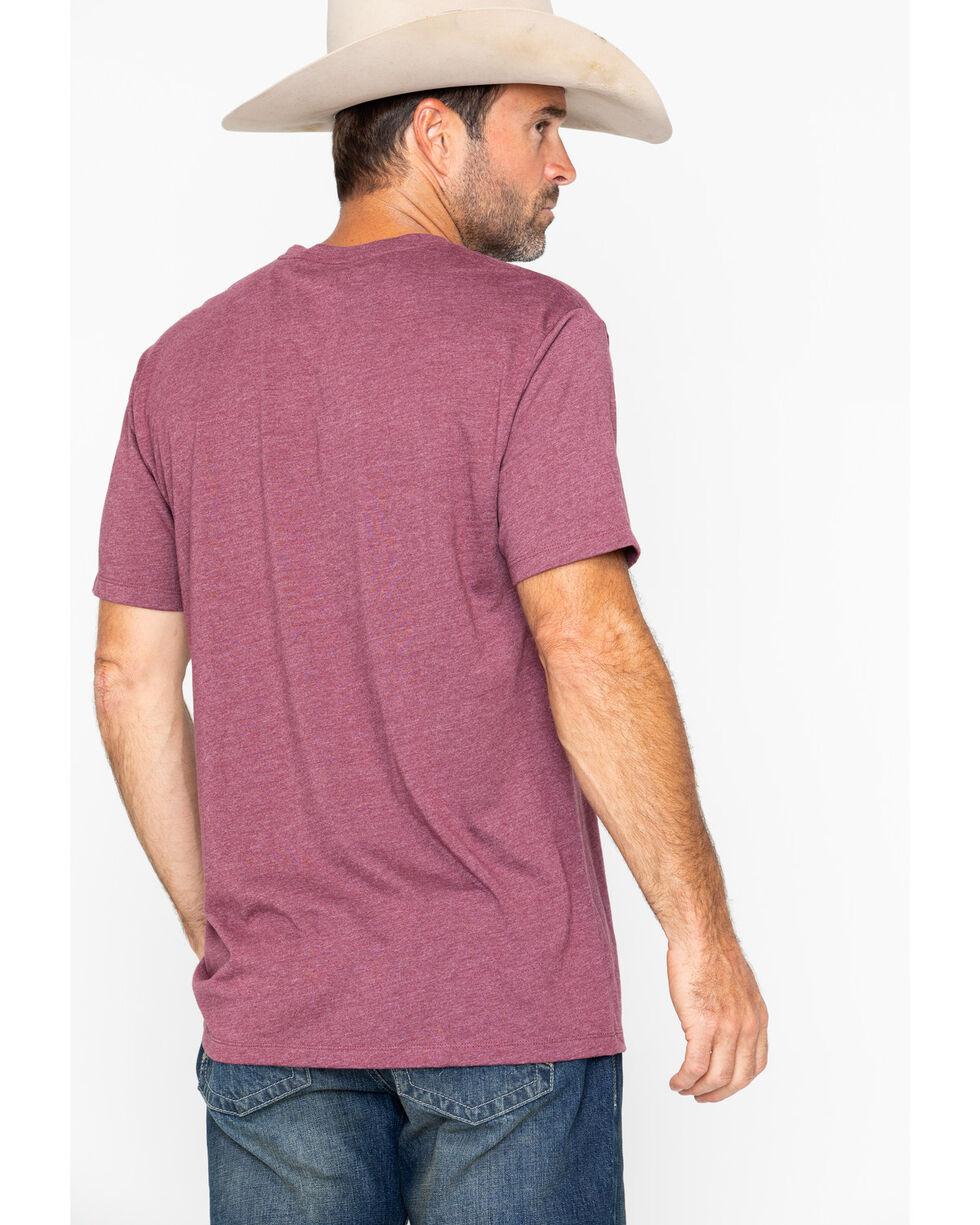 Cody James Men's Horizon Short Sleeve T-Shirt, Burgundy, hi-res