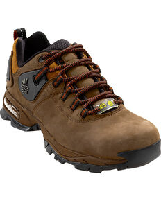 Nautilus Men's Composite Safety Toe ESD Athletic Work Shoes, Brown, hi-res