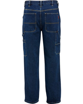 Wolverine Fleece Lined Hammerloop Pants, Indigo, hi-res