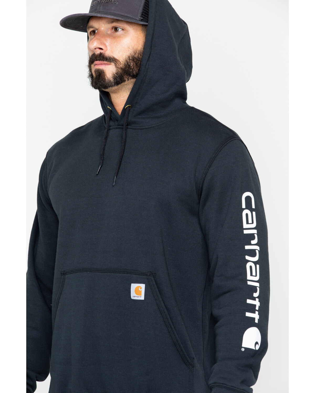 Carhartt Logo Hooded Sweatshirt   Boot Barn