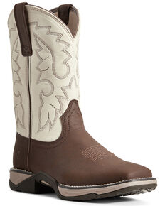 Ariat Women's Anthem II Western Boots - Square Toe, Brown, hi-res
