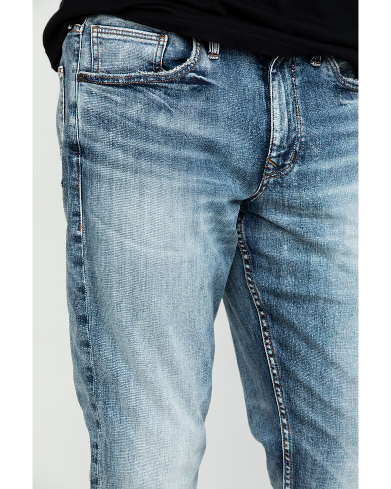 Silver Men's Machray Comfort Stretch Classic Straight Jeans , Indigo, hi-res