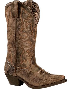 Laredo Women's Access Western Boots, Black, hi-res