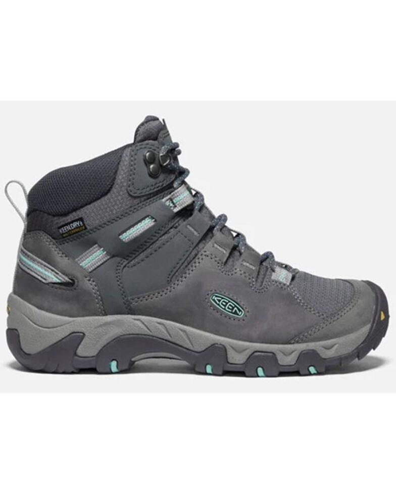 Keen Women's Steens Hiking Boots - Soft Toe, Grey, hi-res