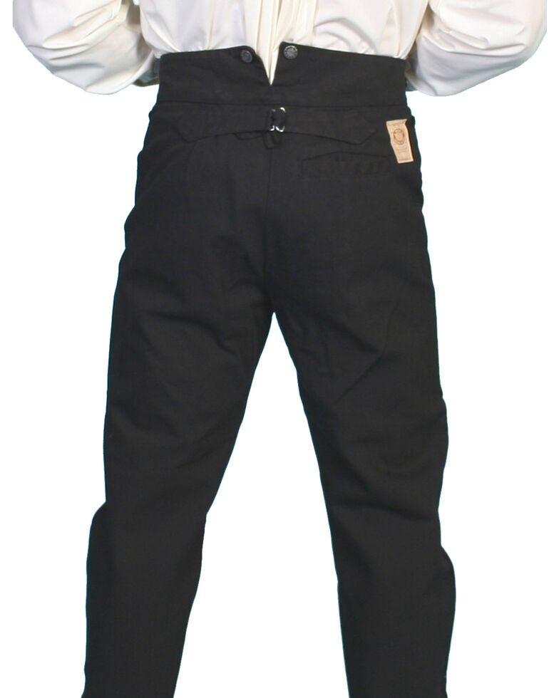 Wahmaker by Scully Canvas Pants, Black, hi-res