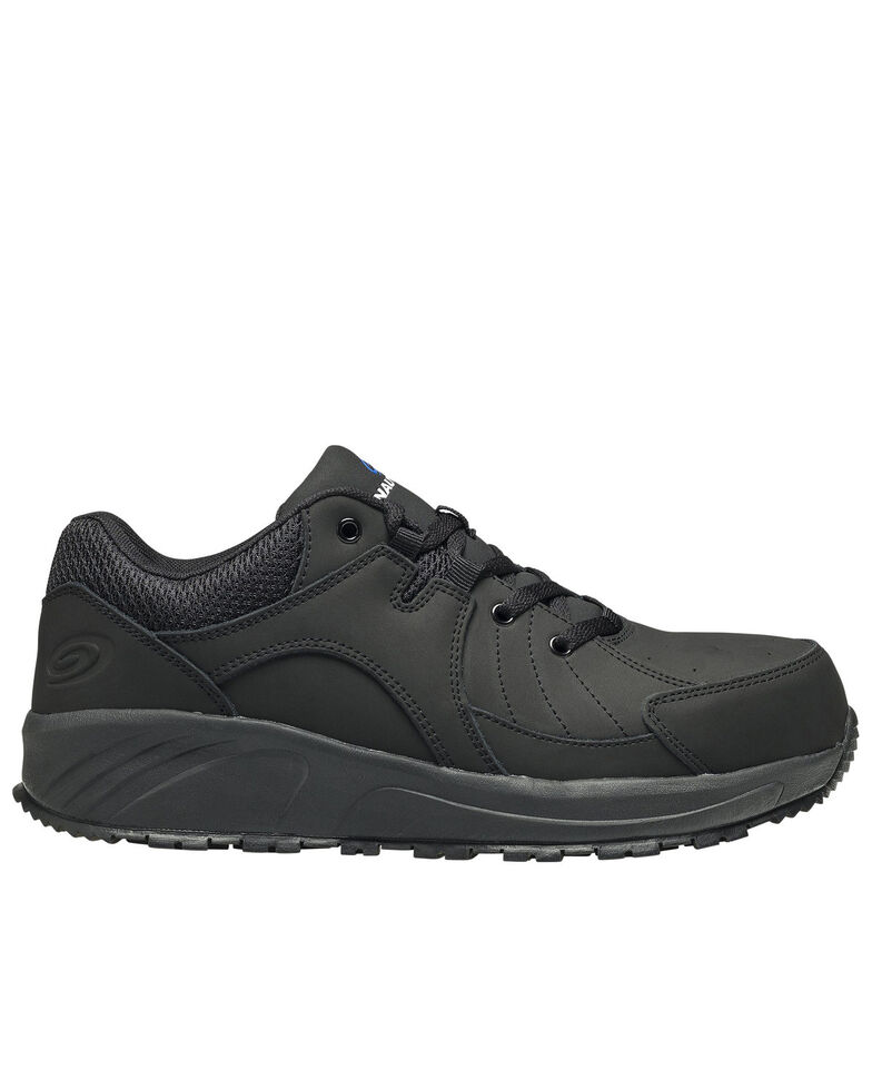 Nautilus Men's Black Work Shoes - Composite Toe, Black, hi-res
