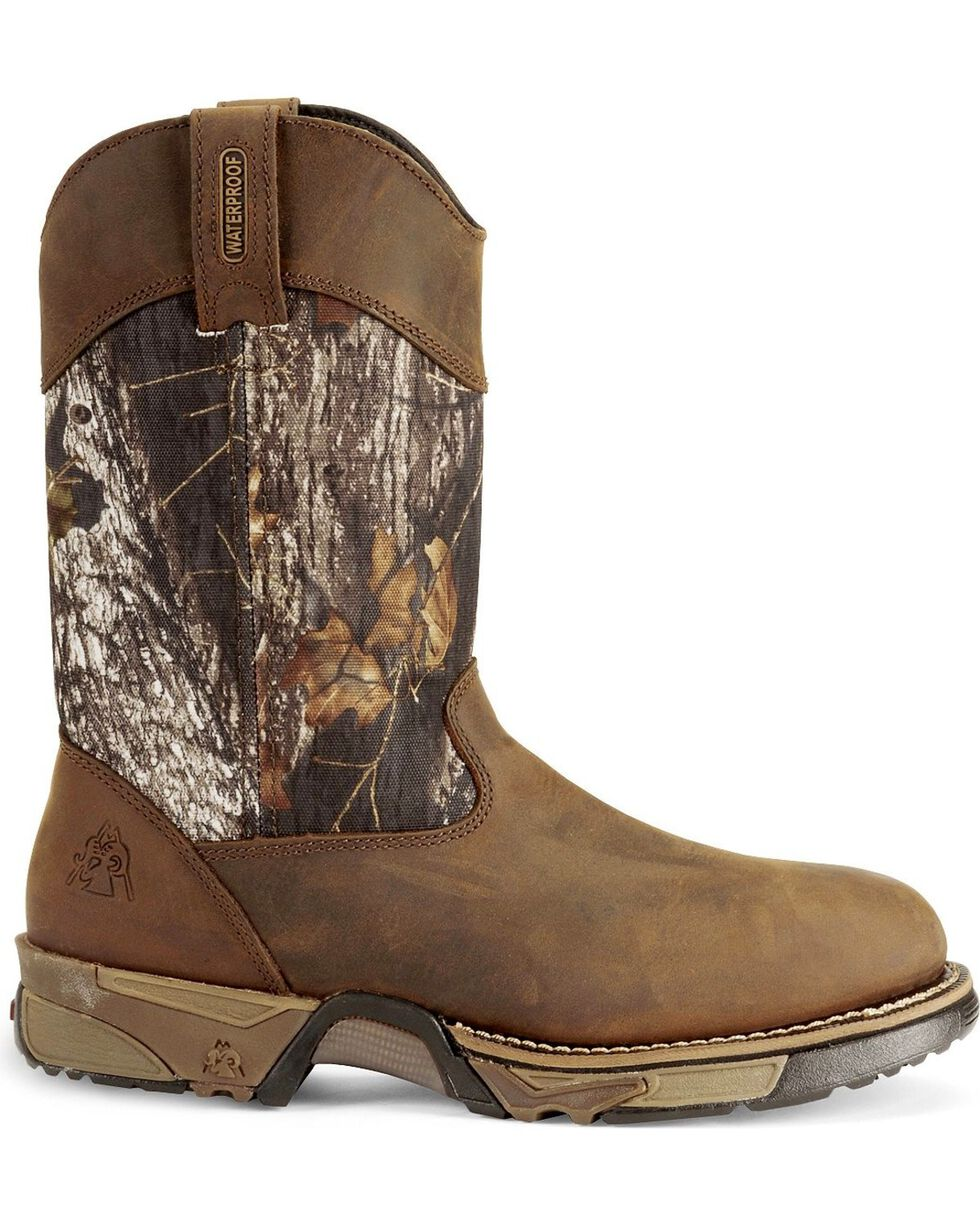 Rocky Men's Aztec Boots, Brown, hi-res