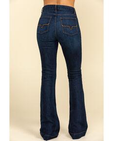 Kimes Ranch Women's Dark Wash Jennifer High Rise Wide Flare Jeans, Blue, hi-res