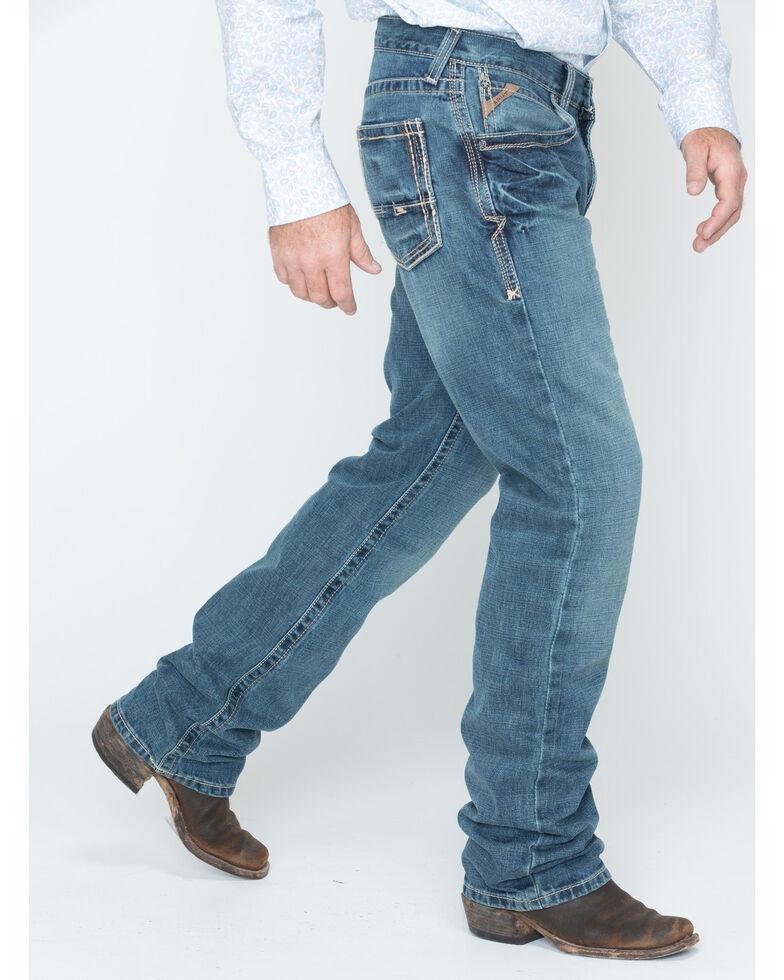 Ariat Men's M5 Gulch Straight Leg Jeans , Med Wash, hi-res