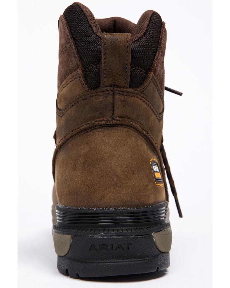 "Ariat Mastergrip 6"" H2O Work Boots, Brown, hi-res"