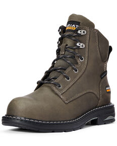 Ariat Women's Casey Work Boots - Composite Toe, Charcoal, hi-res