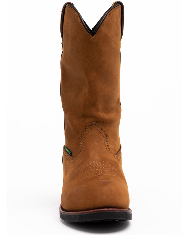 Dan Post Men's Albuquerque Waterproof Western Work Boots - Soft Toe, Distressed, hi-res
