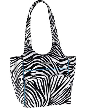 Ariat Carry All Zebra Bag, Zebra, hi-res