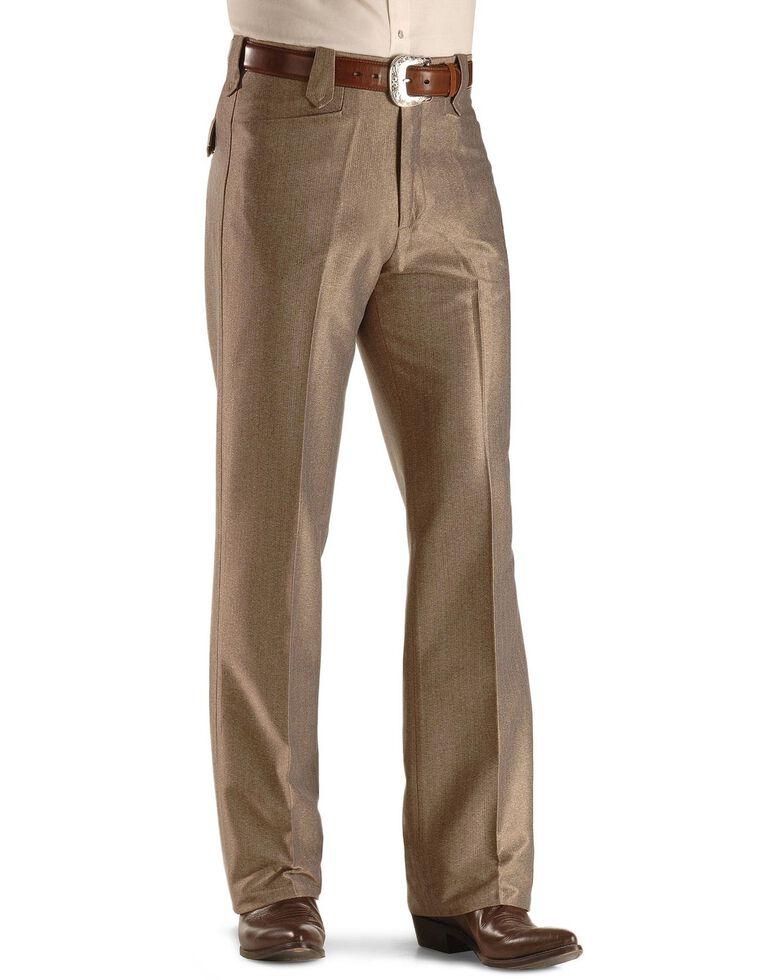 Circle S Men's Swedish Knit Snap Ranch Dress Pants, Khaki, hi-res