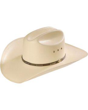 Stetson Llano 10X Straw Cowboy Hat, Natural, hi-res