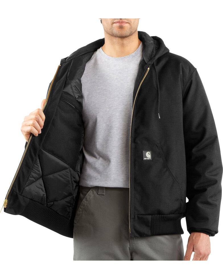 aa3078ccfd8 Zoomed Image Carhartt Men's Extremes Active Arctic Quilt Lined Jacket,  Black, hi-res