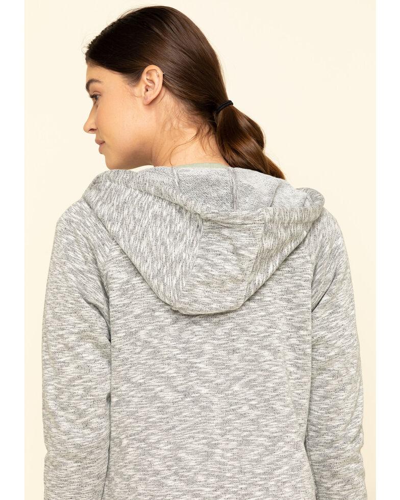 Carhartt Women's Black Full Zip Hoodie Sweatshirt , Black, hi-res