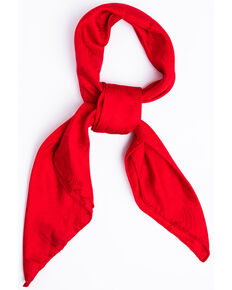 Cody James Men's Red Silk Jacquard Scarf , Red, hi-res