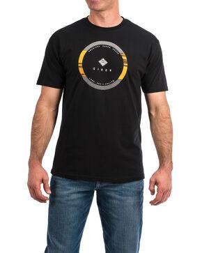 Cinch Men's American Rodeo Brand Graphic T-Shirt , Black, hi-res