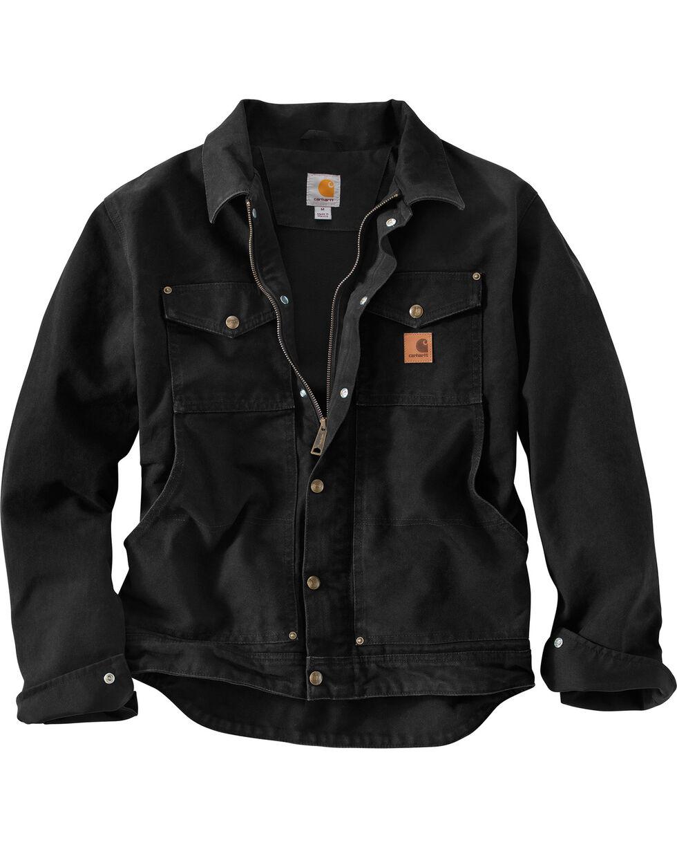 Carhartt Berwick Sandstone Work Jacket, Black, hi-res
