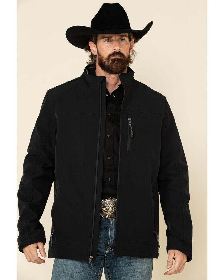 Cody James Core Men's Black Steamboat Softshell Bonded Jacket - Big , Black, hi-res