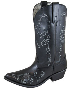 Smoky Mountain Women's Jolene Western Boots - Snip Toe, Black, hi-res