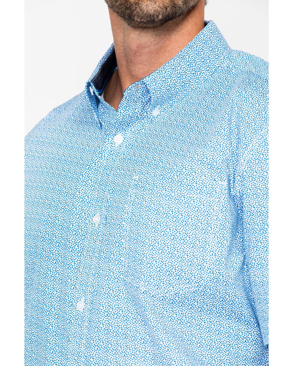 Cody James Men's Diamond Mine Short Sleeve Western Shirt, Royal Blue, hi-res