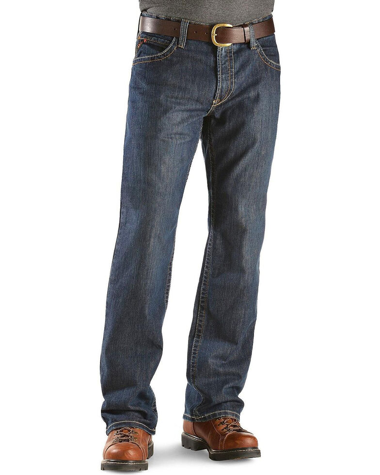 Ariat Men's M4 Shale Low Rise Work Jeans, Indigo, hi-res