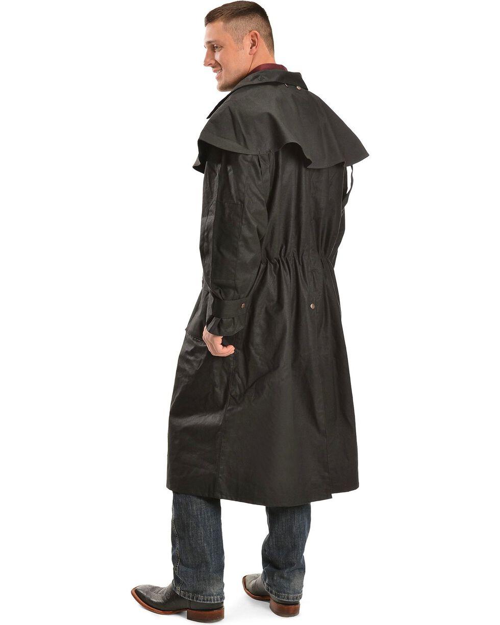 Outback Men's Low Ride Duster Coat, Black, hi-res