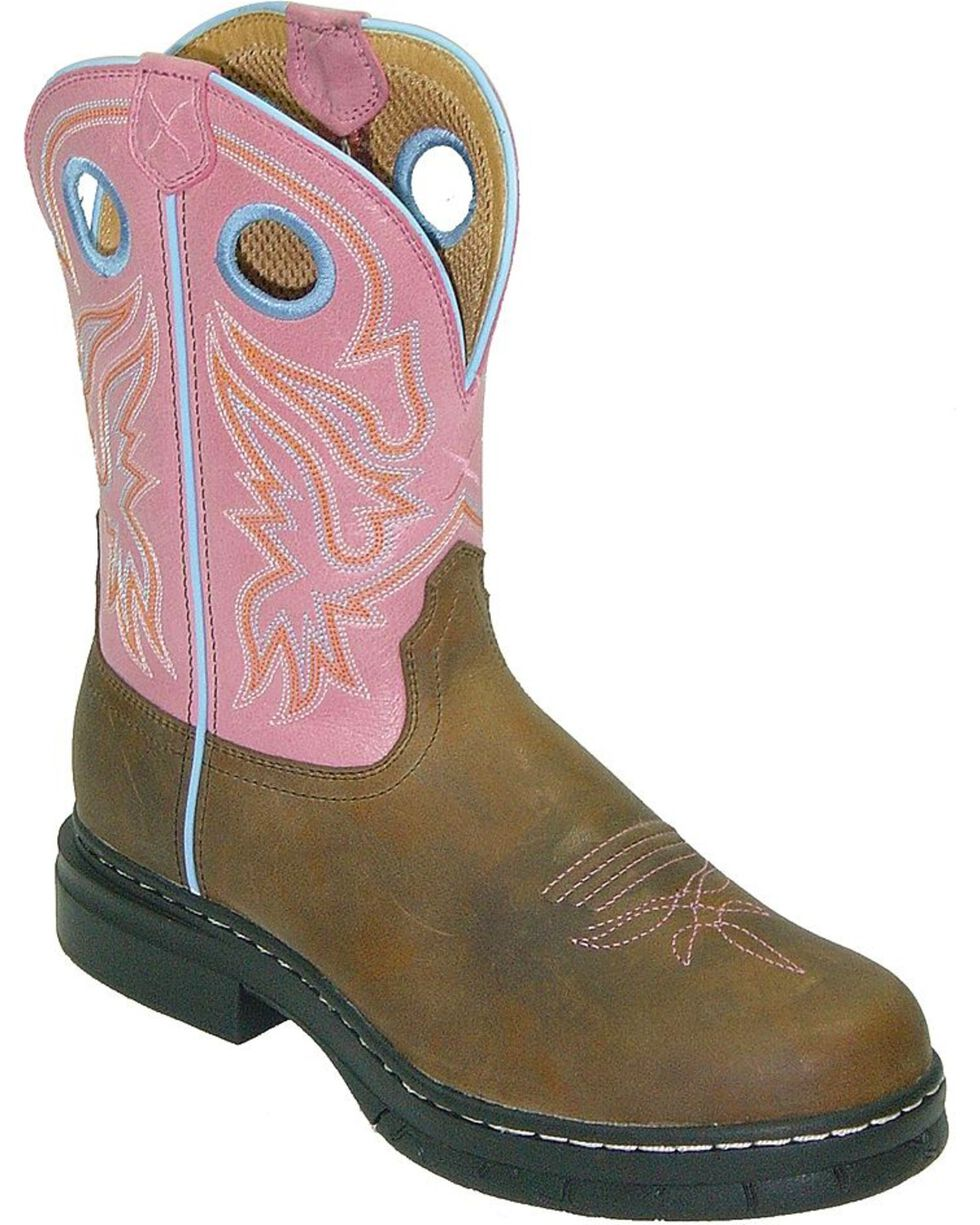 Twisted X Women's EZ Rider Western Work Boots, Distressed, hi-res