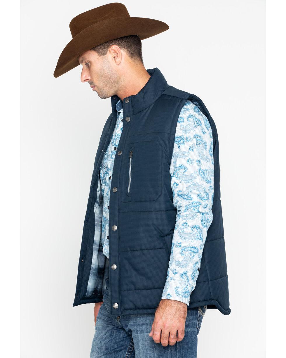 Cody Core Men's Telluride Quilted Vest , Navy, hi-res