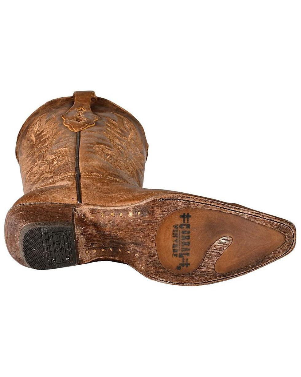 Corral Women's Vintage Western Boots, Tan, hi-res